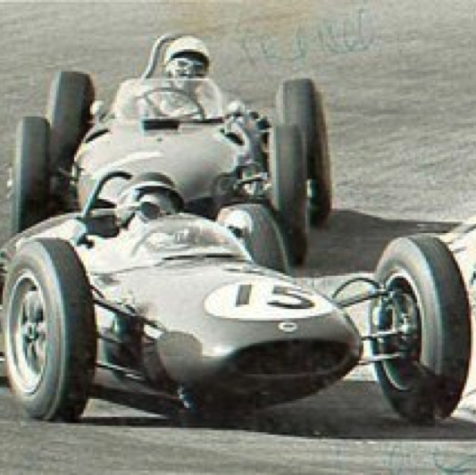 Zandwoort : Jimmy devant Phill Hill