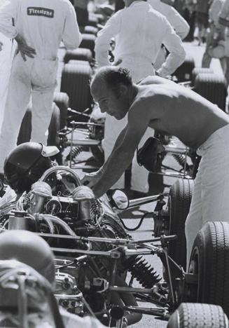 Un supporter de choix : Stirling Moss