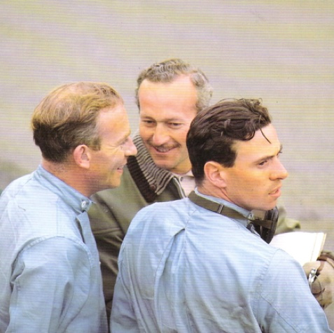Jim, Peter Arundell, Colin Chapman